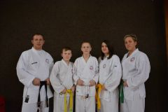 oddil karate Hanusovice 2017